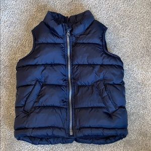Old Navy: Boys navy vest (size 2T)